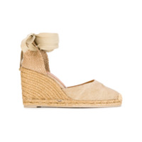 Castañer Wedge Espadrilles - Brown