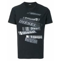 Diesel Camiseta 'diego' - Preto