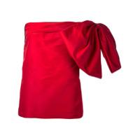 Bambah Blusa De Seda - Vermelho