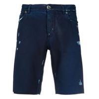 Dolce & Gabbana Bermuda Jeans - Azul