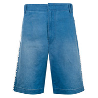 Stella Mccartney Short Jeans Bordado - Azul