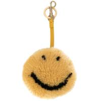Anya Hindmarch Acessório Para Bolsa 'smiley Face' - Amarelo E Laranja