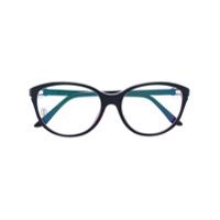 Cartier Armação De Óculos Redonda - Preto
