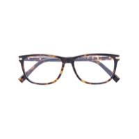 Ermenegildo Zegna Armação De Óculos Quadrada - Brown