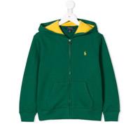 Ralph Lauren Kids Moletom Com Logo Bordado - Green