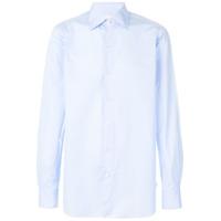 Finamore 1925 Napoli Camisa Clássica - Azul