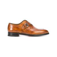 Bontoni Sapato De Couro 'brillatina' - Brown