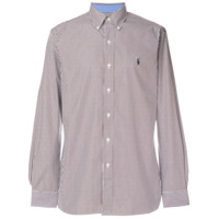 Polo Ralph Lauren Camisa Listrada - Brown