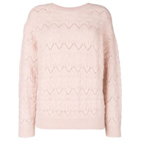 Closed Suéter De Tricô - Pink & Purple
