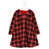 Dolce & Gabbana Kids Vestido Xadrez - Vermelho