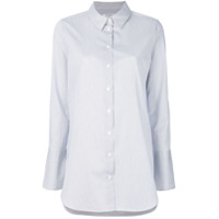 Equipment Camisa Listrada - Branco
