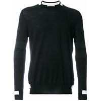 Givenchy Blusa De Moletom De Tricot - Preto