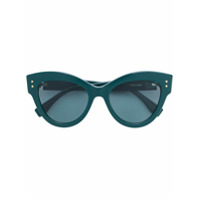 Fendi Eyewear Óculos De Sol Gatinho - Green