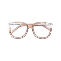 Chloé Eyewear Armação De Óculos - Nude & Neutrals