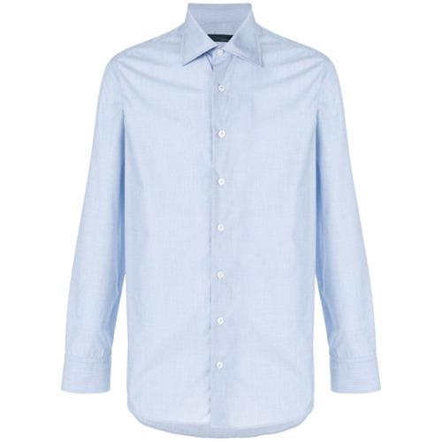 Lardini Camisa mangas longas - Azul