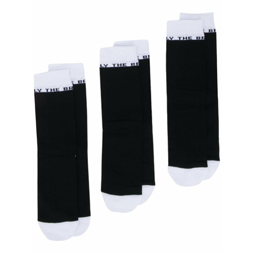 Imagem de Diesel Kit com 3 pares de meias - Preto