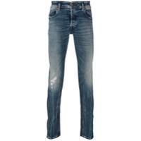 Diesel Calça Jeans 'sleenker' - Azul