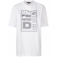 Alexander Wang Camiseta Com Estampa 'fast Forward' - Branco