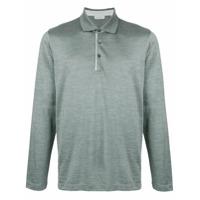 Cerruti 1881 Camisa Polo Mangas Longas - Grey