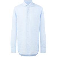 Alessandro Gherardi Camisa De Linho - Azul