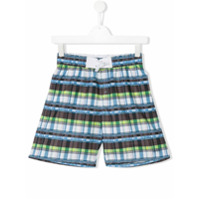 Boss Kids Shorts Xadrez - Estampado