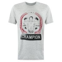 À La Garçonne Camiseta Com Estampa - Grey