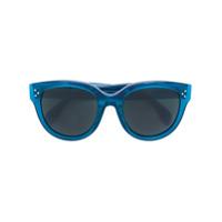 Céline Eyewear Óculos De Sol 'audrey' - Azul