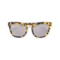 Dolce & Gabbana Eyewear Óculos De Sol Tartaruga - Amarelo E Laranja