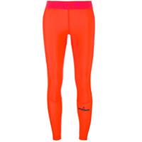 Adidas By Stella Mccartney Legging Esportiva - Amarelo E Laranja