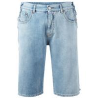 Mm6 Maison Margiela Bermuda Jeans - Azul