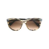 Fendi Eyewear Óculos De Sol 'slinky' Gatinho - Grey