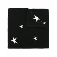 Chinti & Parker Cachecol De Cashmere Com Aplicação De Estrelas - Preto