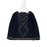 Bonpoint Suéter De Tricô - Azul