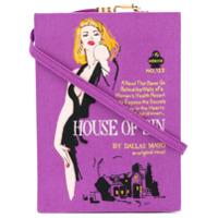 Olympia Le-Tan Bolsa Transversal 'house Of Sin' - Pink & Purple