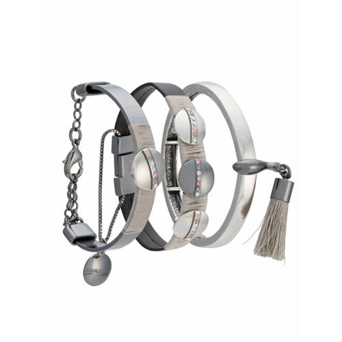 Imagem de Camila Klein kit 3 pulseiras - Metallic