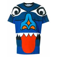 Givenchy Camiseta Com Estampa - Azul