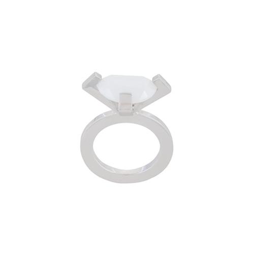 Imagem de Mehem Kit 3 anéis com zircônias - Metálico
