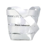 Paco Rabanne Bolsa Tiracolo De Couro - Metallic