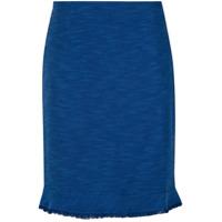 Fillity Saia Curta Tweed - Azul