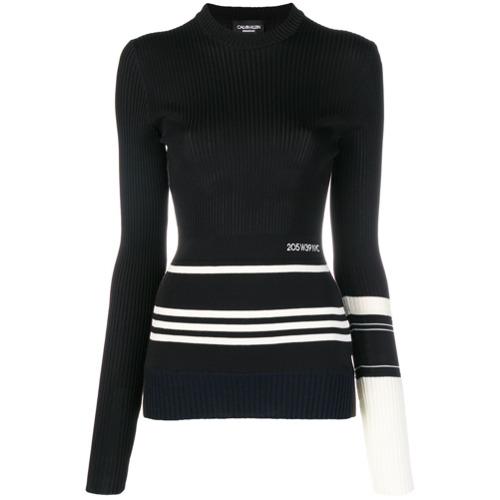 Imagem de Calvin Klein 205W39nyc Blusa de tricô slim - Preto