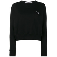 Calvin Klein 205W39Nyc Blusa De Moletom Decote Careca - Preto