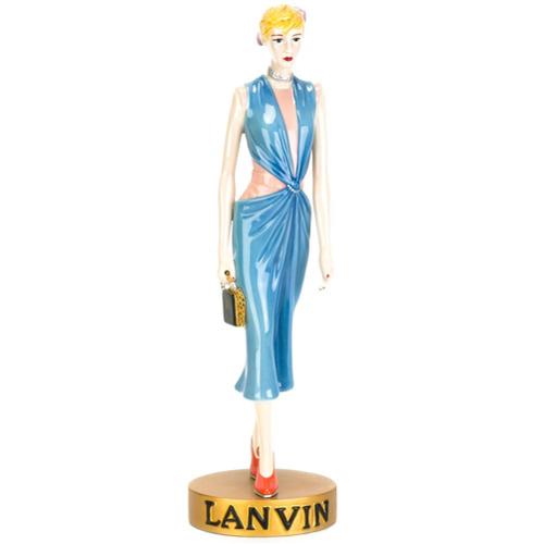 Lanvin Boneca de porcelana - Estampado