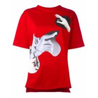 Proenza Schouler Camiseta Com Estampa 'woman' - Vermelho