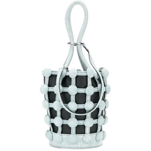 Alexander Wang Bolsa Bucket  roxy Denim Cage  Mini - Azul 410c1c435b1