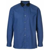 Cerruti 1881 Camisa Com Contraste - Azul