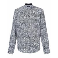 Amiri Camisa Animal Print - Branco