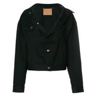 Balenciaga Jaqueta Jeans 'swing' - Preto