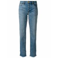 Tory Burch Calça Jeans Reta - Azul