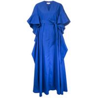 Delpozo Vestido Longo - Azul