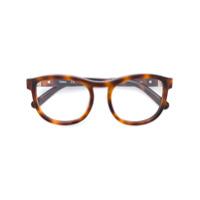 Chloé Eyewear Óculos Redondo - Brown